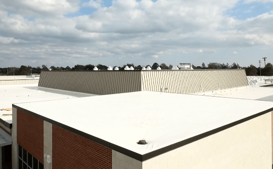 Single Ply Membrane Flat Roofing